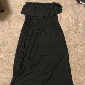 NWT RUE 21 3X SUN DRESS MAXI DRESS BLACK